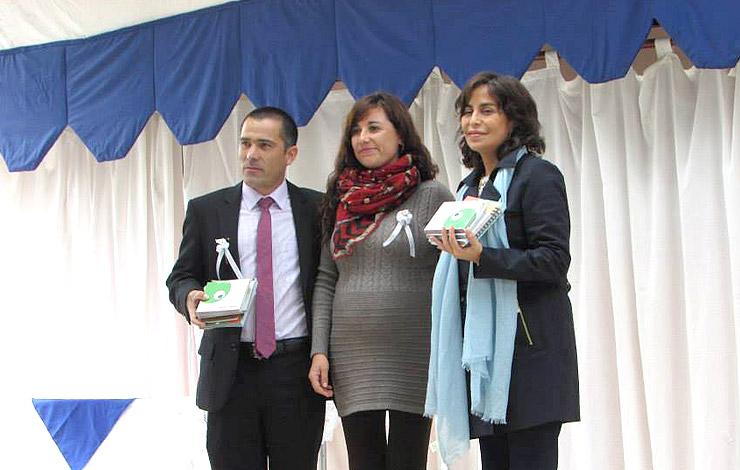 CNTV entrega material audiovisual a escuelas de Lampa