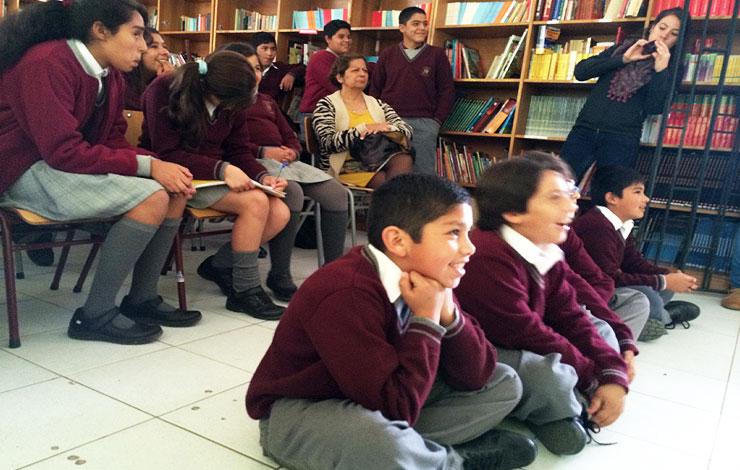 "Niños y niñas de Coquimbo votan por su ""mono animado"" favorito para CHILEMONOS"