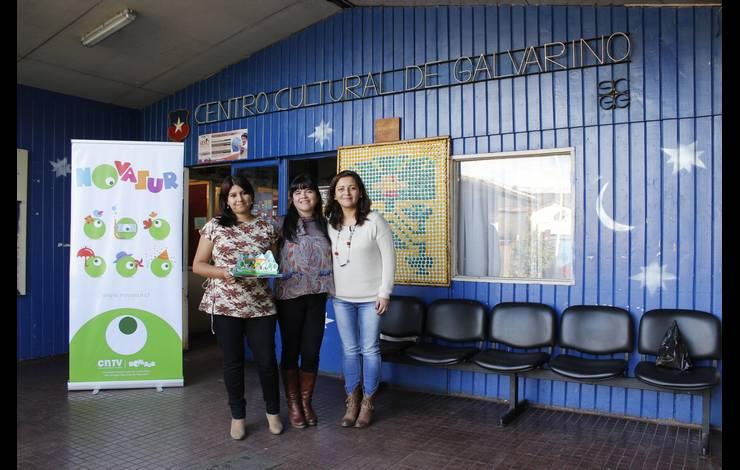 Araucanía: Exitosa muestra audiovisual a niños y niñas de Galvarino