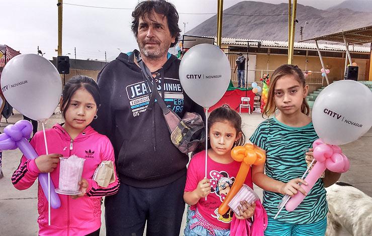 """Antofagasta: Tocopilla celebró la """"Fiesta de los Niños y las Niñas"""" junto a CNTV-Novasur"""