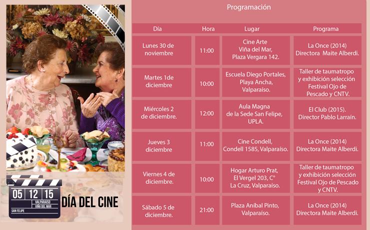 CNTV-Novasur participará en la celebración del Día del Cine en Valparaíso