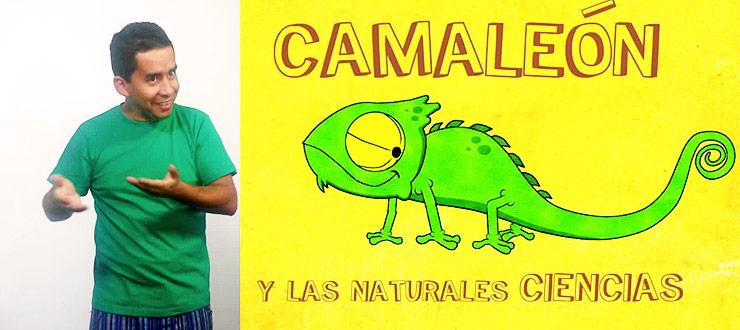 """PRONTO: """"Camaleón y las naturales ciencias"""" con lenguaje de señas"""