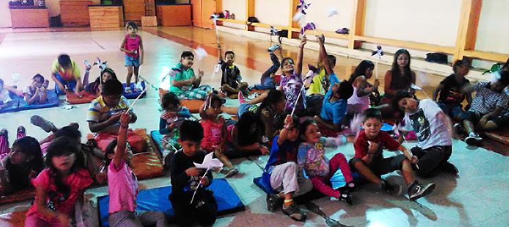 Antofagasta: Los Monos de Novasur se instalan en Escuelas de Verano JUNAEB