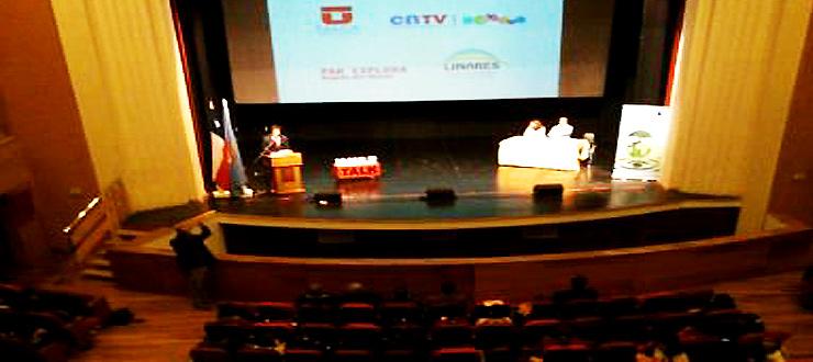 Series educativas del CNTV fueron exhibidas en Seminario Medioambiental en Linares