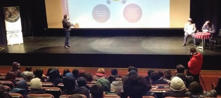 """CNTV-Novasur participa en """"Cine Educa"""" San Joaquín"""