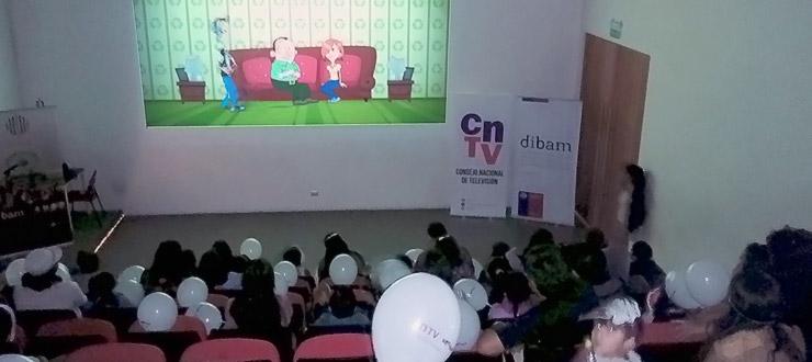 Antofagasta: Culmina el 2° Ciclo de Animación CNTV-Novasur con éxito de asistencia