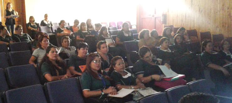 CNTV presenta material educativo 2015 a educadoras JUNJI de Tarapacá