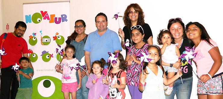 Animaciones de la Programación Novasur se presentarán todos los domingos en la Biblioteca Regional de Antofagasta