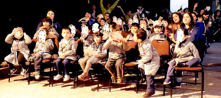 Valparaíso: CNTV-Novasur realiza muestras audiovisuales y actividades para 300 niñ@s