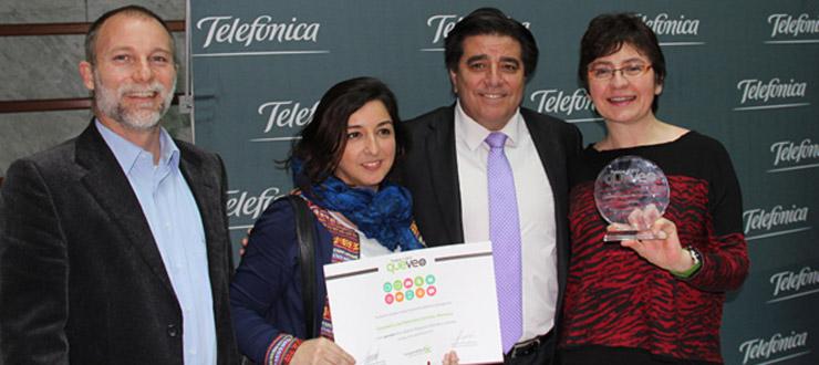 Serie Novasur sobre ciencias es galardonada en los Premios QuéVeo 2015