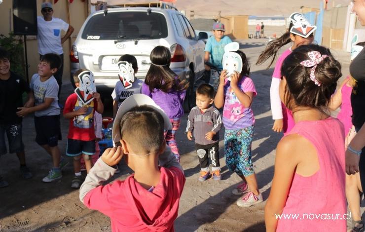 Tarapacá: CNTV y TECHO realizan muestra audiovisual educativa en campamentos de Alto Hospicio