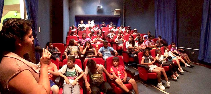Antofagasta: Niñas y niños de la región disfrutan sus vacaciones con las series CNTV infantil