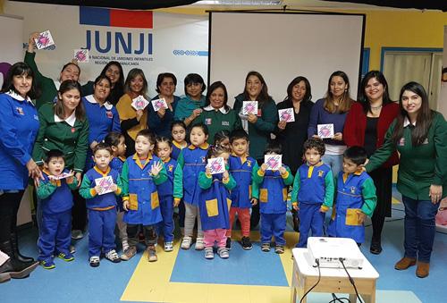 CNTV entrega programación infantil cultural y educativa a jardines de la JUNJI Araucanía