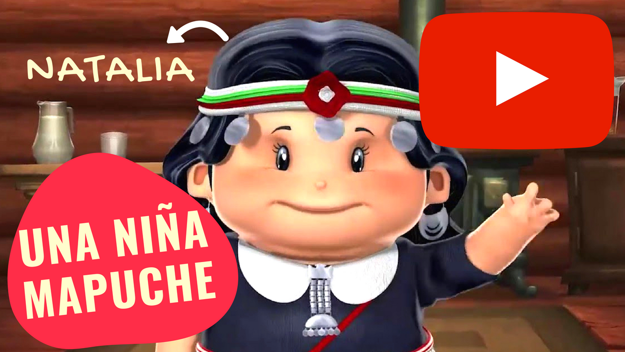 Natalia una niña Mapuche