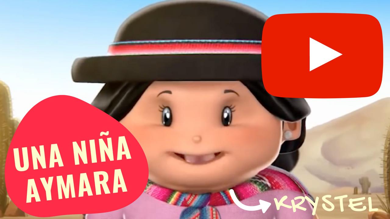 Kristel, una niña Aymara